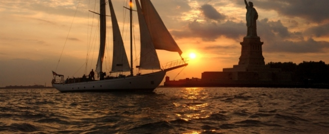 new york romantic sailing experience