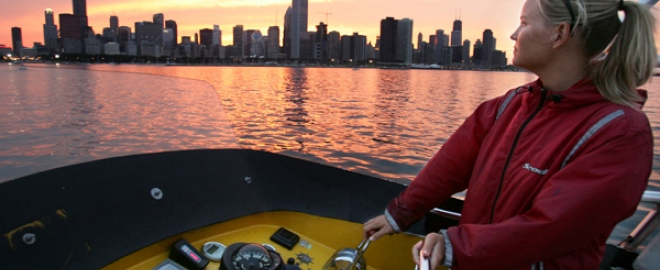 chicago speedboat ride