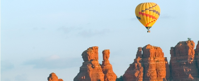 balloon ride over sedona