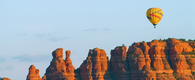 sedona balloon flight
