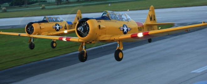 scenic warbird flight florida