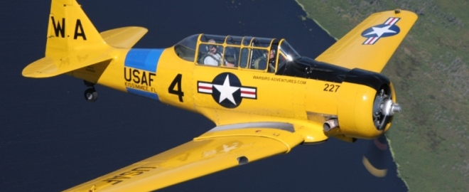 vintage warbird flights florida