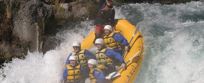 awesome white water rafting experience
