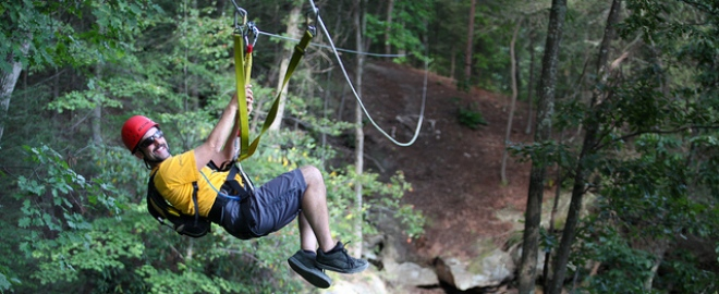 zipline tour west virginia