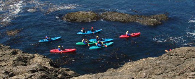 Sea Cave Nature Kayak Tour, Mendocino   Great American Days