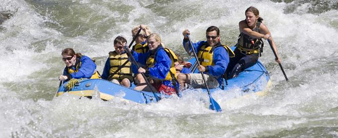 Lehigh River Gorge Rafting Class 3 Great American Days