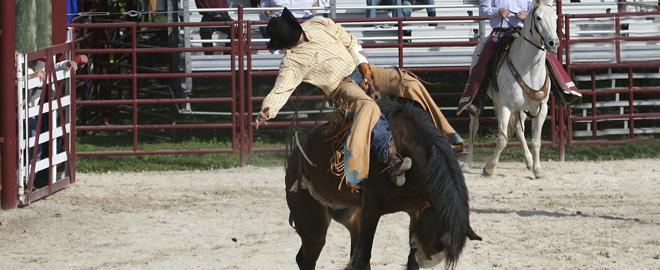 Saddle Bronc School Wichita Great American Days