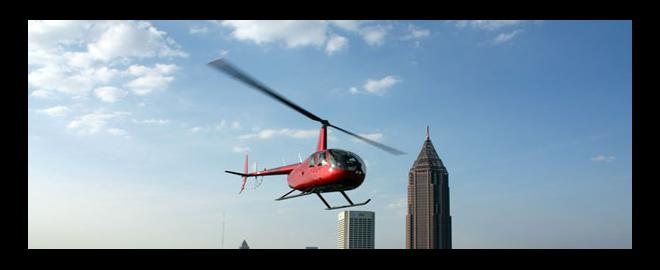 Downtown Atlanta Helicopter Flight