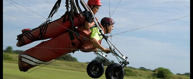 Tandem Hang Gliding Flight, Chattanooga   Great American Days