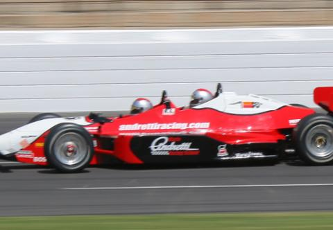 Indy car racing indy racing experience great american days for Atlanta motor speedway ride along